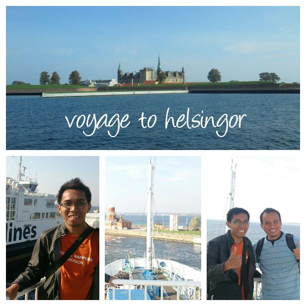 boy cahyo, ferry and kronborg castle